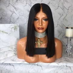 Bob Full Lace Human Hair Wig Bob Lace Front Human Hair Wigs With Baby Hair